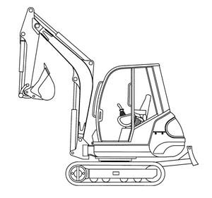 GEHL 342, 362 Mini-excavator Parts Manual