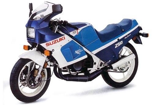 1987 SUZUKI RG250 MOTORCYCLE SERVICE REPAIR MANUAL