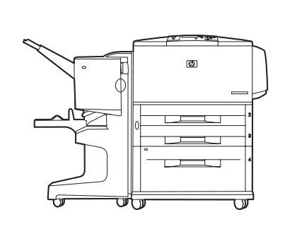 HP LaserJet 9000, 9040, 9050 Series printers Service Repair Manual