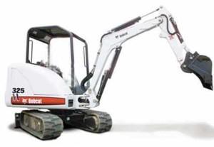 BOBCAT X325 EXCAVATOR SERVICE REPAIR MANUAL (S/N: 514011001-514012999)