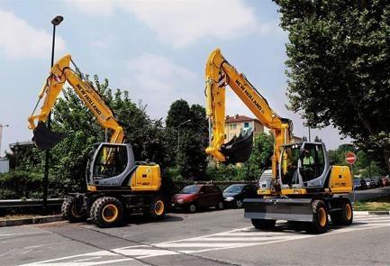New Holland WE150 Compact, WE170 Compact, WE170C Railroad Wheeled Excavators Service Repair Manual