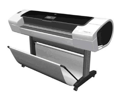 HP Designjet T1100/T1100ps/T610 series printer Service Repair Manual