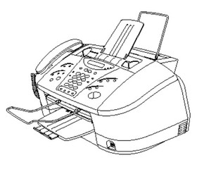Brother Facsimile Equipment MFC830 / MFC840 Parts Reference List