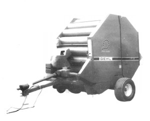 GEHL 1710 Fixed Chamber Round Baler  Parts Manual