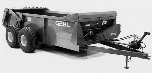 GEHL 1410 Manure Spreader Parts Manual