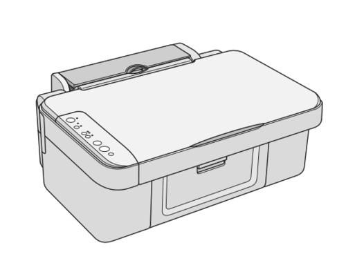 Epson Stylus CX3700/CX3800/CX3805/CX3810/DX3800/DX3850 Color Inkjet Printer Service Repair Manual