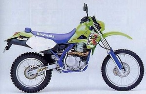 1993 KAWASAKI KLX650, KLX650R MOTORCYCLE SERVICE REPAIR MANUAL