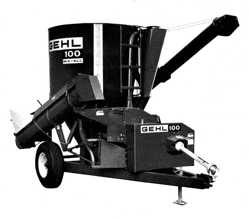 GEHL 100 MIX-All Parts Manual