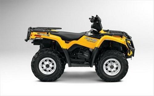 BOMBARDIER CAN-AM OUTLANDER 400 EFI SERIES ATV SERVICE REPAIR MANUAL 2008-2009 DOWNLOAD