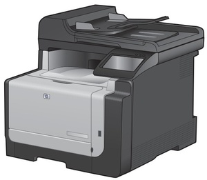 HP LaserJet Pro CM1410 Color MFP Series Printer Service Repair Manual