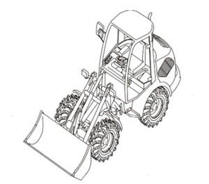 Takeuchi TW50 Wheel Loader Parts Manual (Serial No. E105833~)