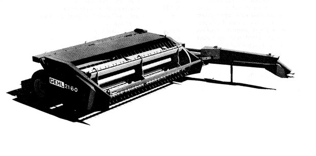 GEHL 2130/2160 MOWER CONDITIONER Parts Manual