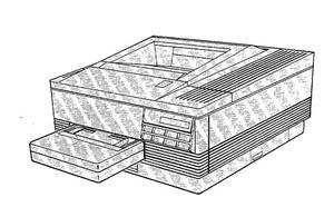 HP LaserJet Series II printer (HP 33440), LaserJet III printer (HP 33449) Combined Service Manual