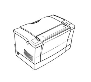 Epson EPL-5500 Terminal Printer Service Repair Manual