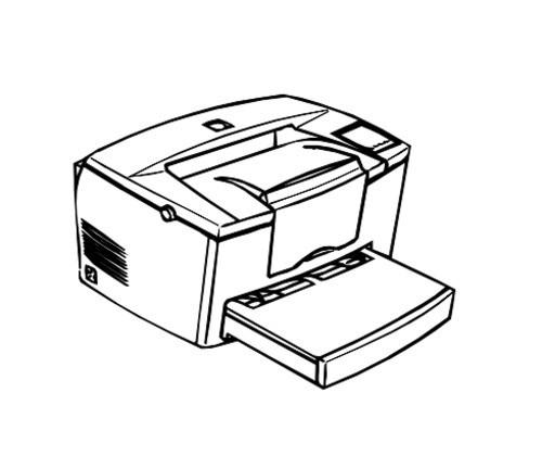 Epson EPL-5700 Page Printer Service Repair Manual