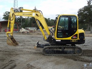 HYUNDAI R55-7 CRAWLER EXCAVATOR SERVICE REPAIR MANUAL