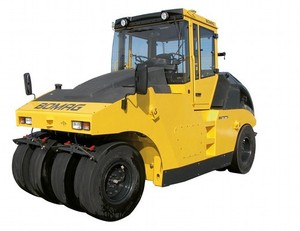 BOMAG RUBBER TIRE ROLLER BW24R OPERATION & MAINTENANCE MANUAL