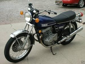 YAMAHA TX500, TX500A MOTORCYCLE SERVICE REPAIR MANUAL 1973-1977 DOWNLOAD