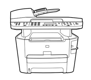 HP LaserJet 3390, 3392 All-in-One (printer / fax / copier / scanner) Service Repair Manual