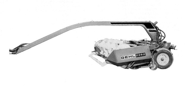 GEHL 2262 Center Pivot Mower Conditioner Parts Manual