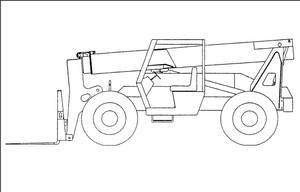 GEHL 883 Dynalift Telescopic Forklift Parts Manual