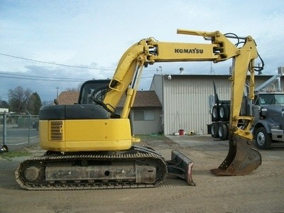 KOMATSU PC128UU-2 HYDRAULIC EXCAVATOR SERVICE REPAIR MANUAL + OPERATION & MAINTENANCE MANUAL