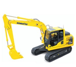 KOMATSU PC130-7 HYDRAULIC EXCAVATOR SERVICE REPAIR MANUAL + OPERATION & MAINTENANCE MANUAL