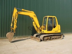 KOMATSU PC75R-2 HYDRAULIC EXCAVATOR SERVICE REPAIR MANUAL + OPERATION & MAINTENANCE MANUAL