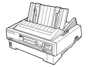 Epson LQ-870 / LQ-1170 Terminal Printer Service Repair Manual