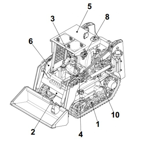 takeuchi tl130 crawler loader parts manual serial no rh sellfy com Takeuchi TL130 Wiring Diagram for Starting takeuchi tl130 wiring schematic