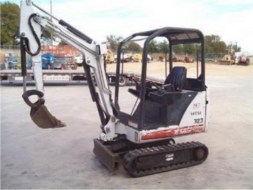 BOBCAT 323 COMPACT EXCAVATOR SERVICE REPAIR MANUAL (S/N: A9JZ11001 & Above)