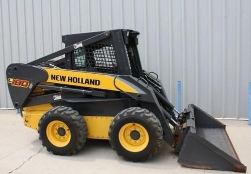 NEW HOLLAND L180, L185, L190, C185, C190 SKID STEER LOADER SERVICE REPAIR MANUAL