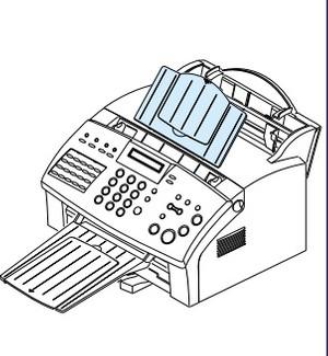 Samsung FACSIMILE SF-555P Service Repair Manual