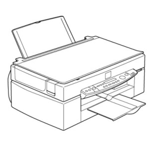 Epson Stylus Scan 2500 All-in-one (printer, scanner, copier) Service Repair Manual
