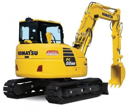 KOMATSU PC88MR-10 HYDRAULIC EXCAVATOR SERVICE REPAIR MANUAL