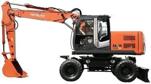 HITACHI ZAXIS140W-3 WHEELED EXCAVATOR SERVICE REPAIR MANUAL