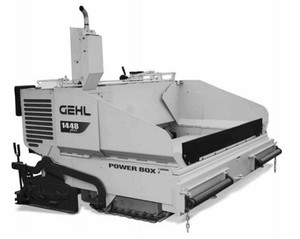 GEHL 1448 Asphalt Paver Parts Manual