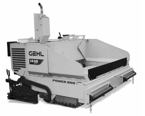 GEHL 1448 Asphalt Paver Parts Manual