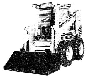 GEHL 4615 Skid Loader Parts Manual