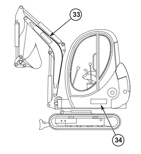 GEHL 153 Compact Excavator Parts Manual