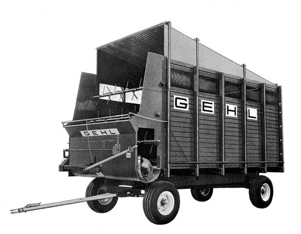 GEHL BU 610 Forage Box Parts Manual