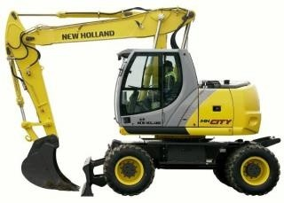 NEW HOLLAND MH City, MH Plus, MH 5.6 WHELL EXCAVATOR (Tier 3) SERVICE REPAIR MANUAL