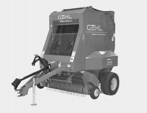GEHL 80 Series Variable Chamber Round Balers Parts Manual