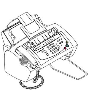 Samsung FACSIMILE SF-350 Service Repair Manual