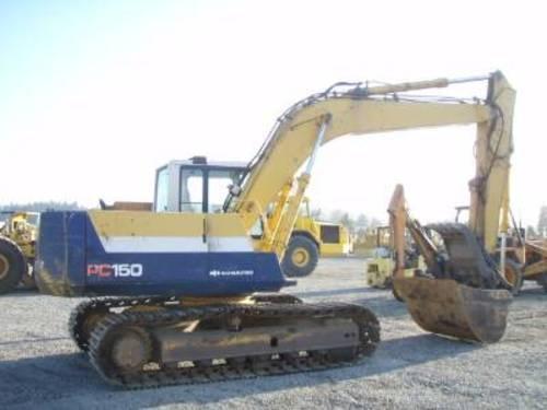 komatsu pc150 3 pc150lc 3 hydraulic excavator service rh sellfy com
