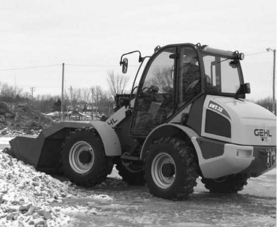 GEHL AWS 36 All-Wheel-Steer Loader Parts Manual
