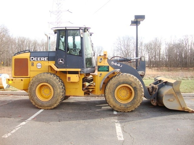 John Deere 544J Wheel Loader Service Repair Manual + Operation and Test (S.N. 611800—)