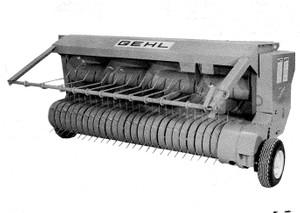 GEHL HA1200 Hay Attachment Parts Manual