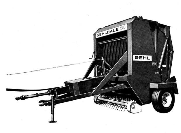 GEHL RB1500 Baler Parts Manual