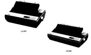 Epson LQ-860 / LQ-1060 Terminal Printer Service Repair Manual